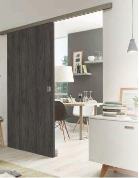 Les diff rents types de portes int rieures - Mettre une porte coulissante ...