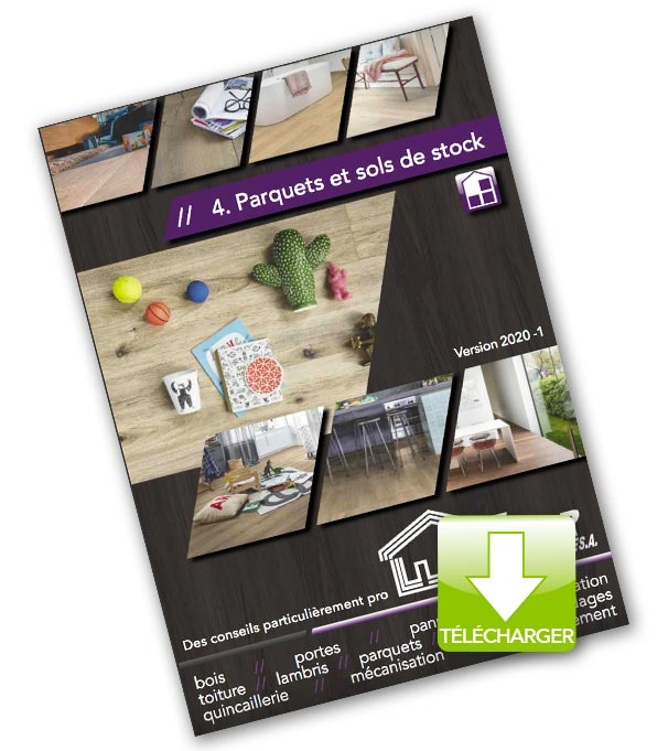 Catalogue 2020 telecharger parquet stock